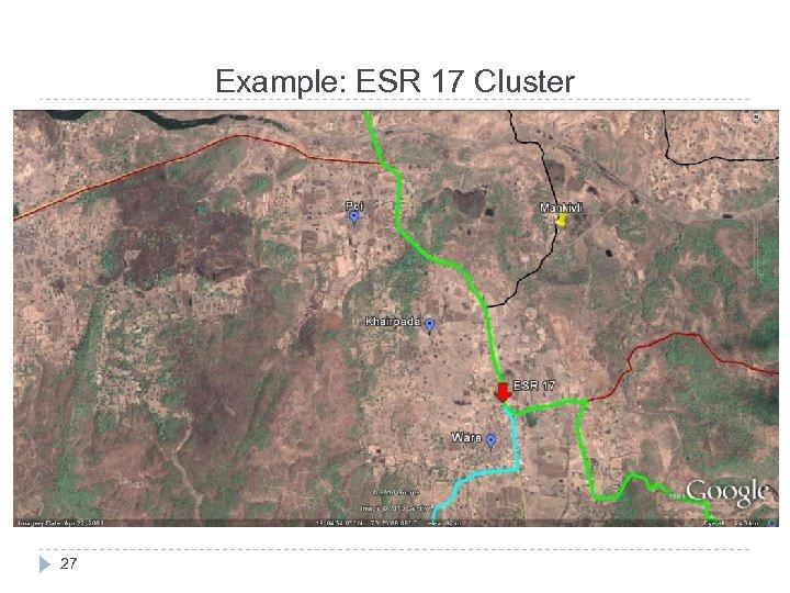 Example: ESR 17 Cluster 27