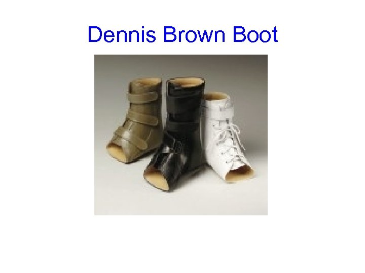 Dennis Brown Boot