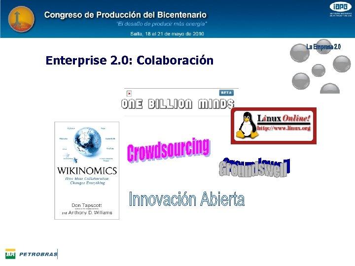 Enterprise 2. 0: Colaboración