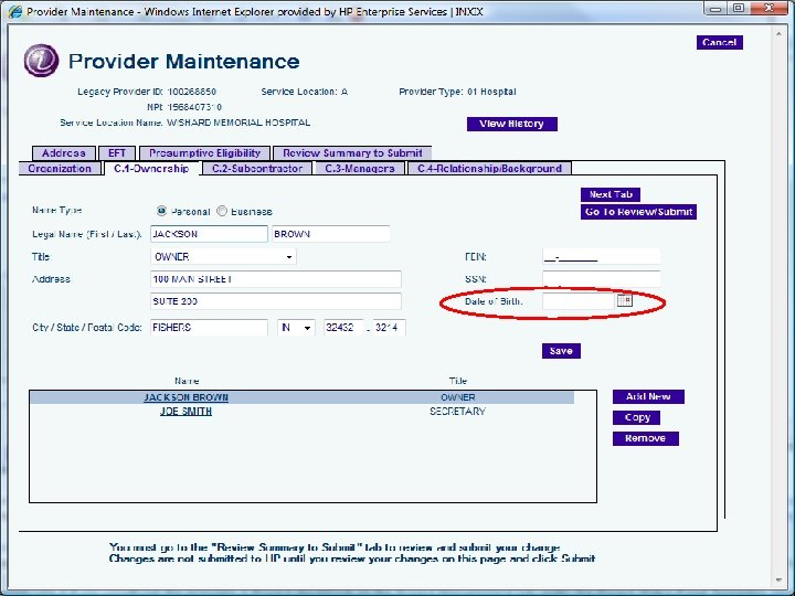 Disclosure Information 34 Provider Enrollment and the ACA May 2012