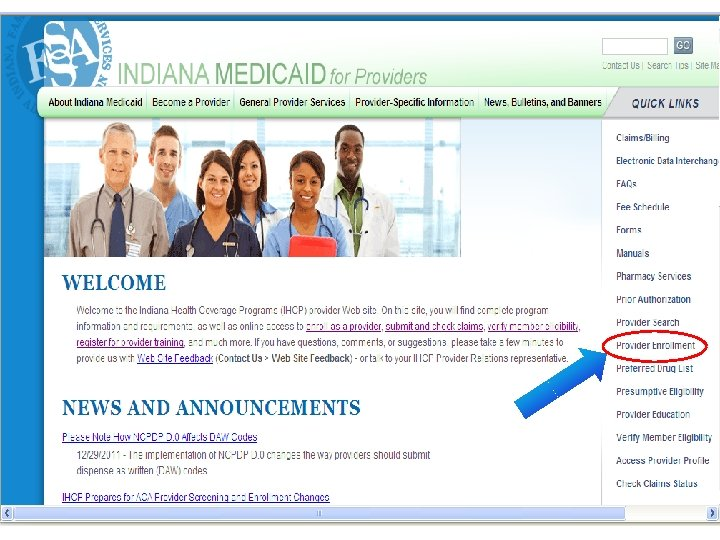 Affordable Care Act 5 Provider Enrollment and the ACA May 2012