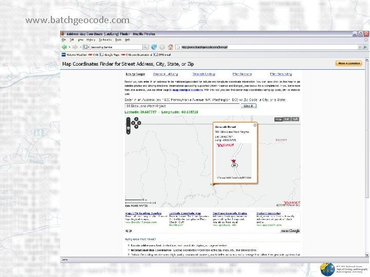 www. batchgeocode. com
