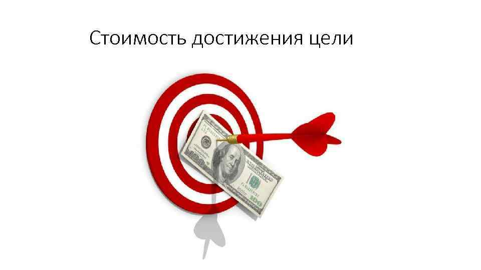 Стоимость достижения цели
