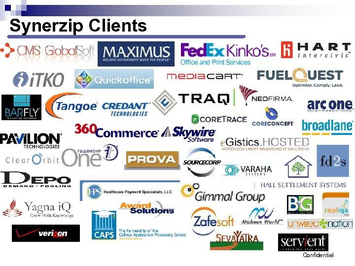 Synerzip Clients Confidential