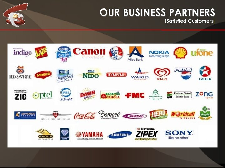 OUR BUSINESS PARTNERS (Satisfied Customers)