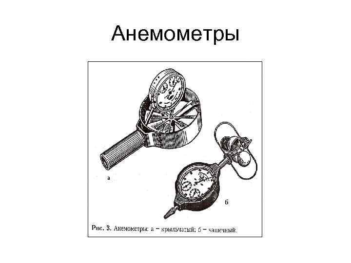 Анемометры