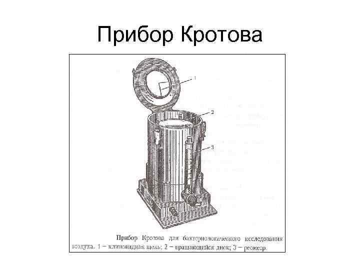 Прибор Кротова