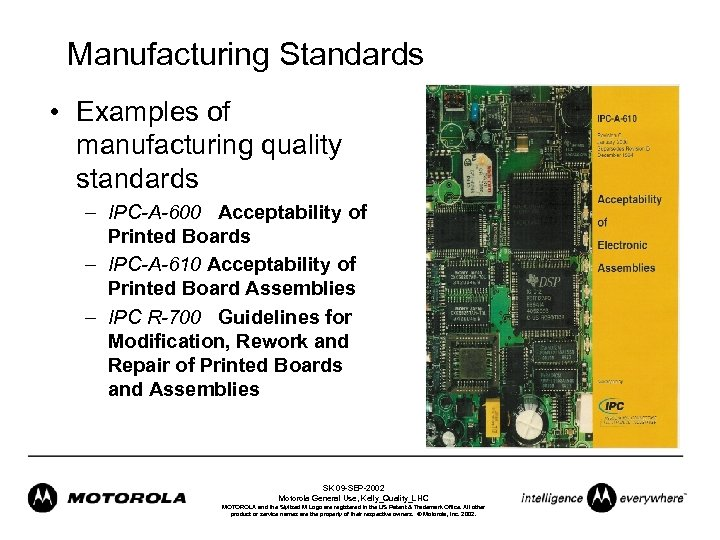 Managing for Quality in the Electronics Industry Sean