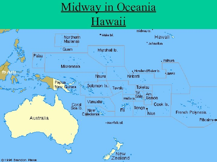 Midway in Oceania Hawaii