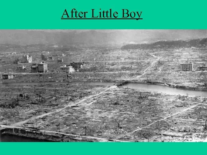 After Little Boy