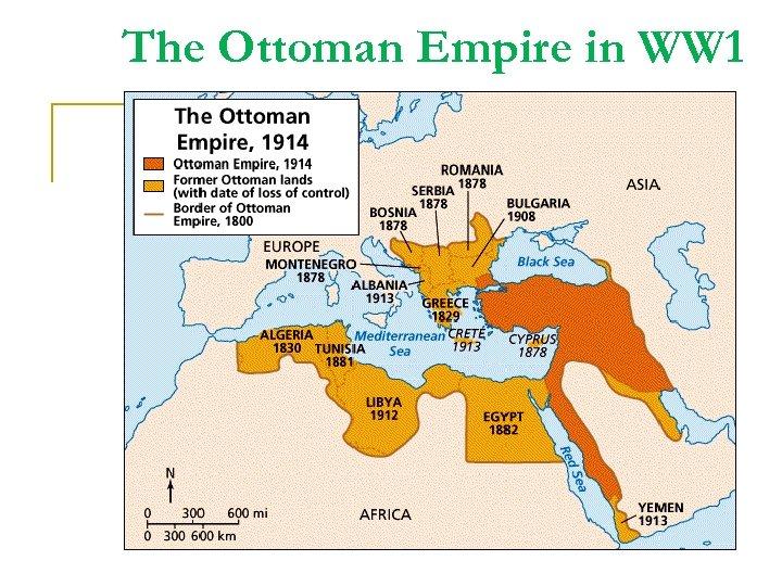 The Ottoman Empire in WW 1