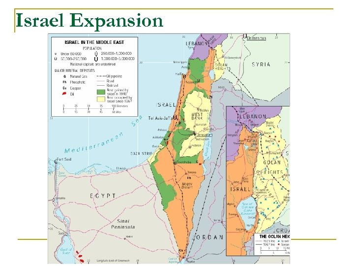 Israel Expansion