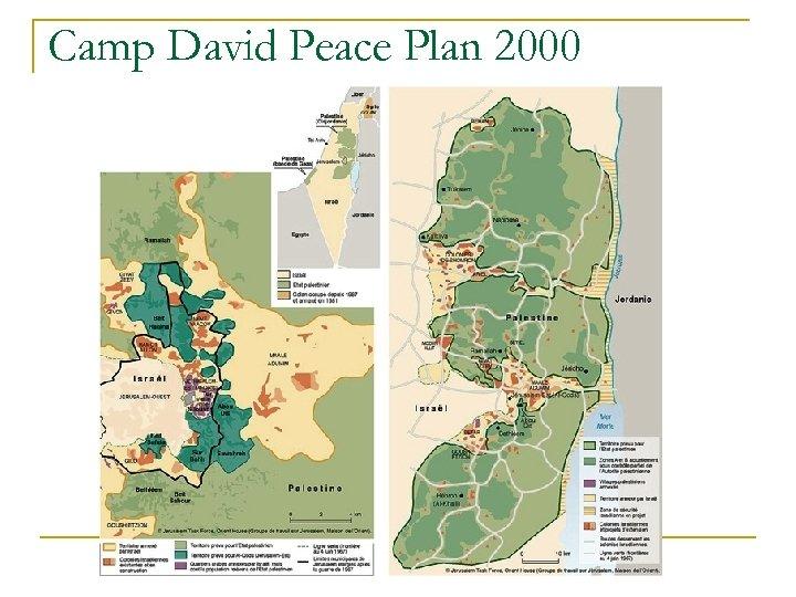 Camp David Peace Plan 2000