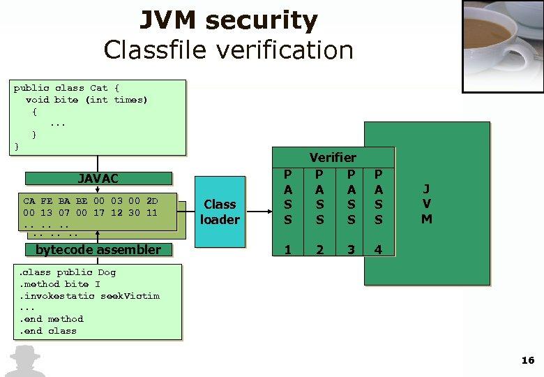 Security Aspects in Java Bytecode Engineering Blackhat Briefings
