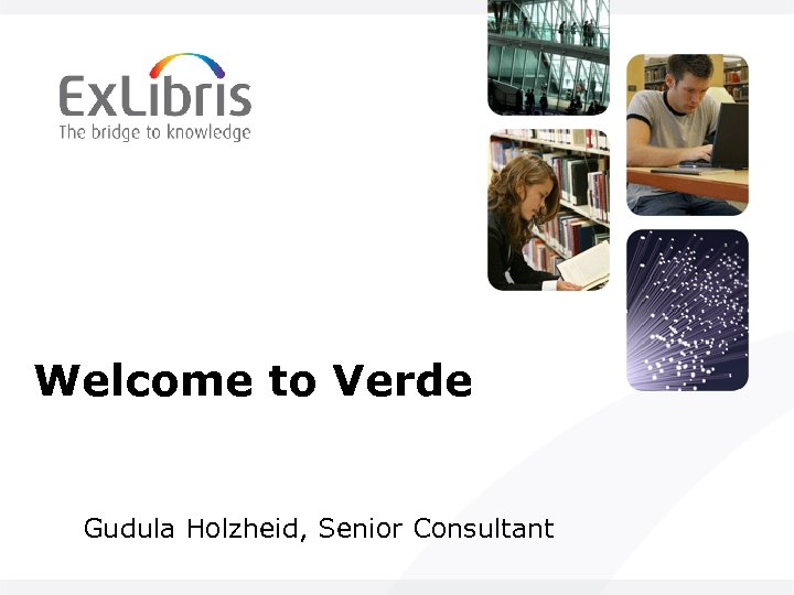 Welcome to Verde Gudula Holzheid, Senior Consultant