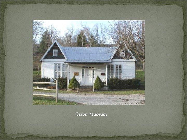 Carter Museum
