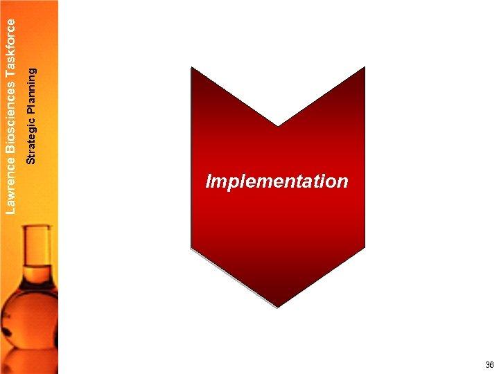 Strategic Planning Lawrence Biosciences Taskforce Implementation 36