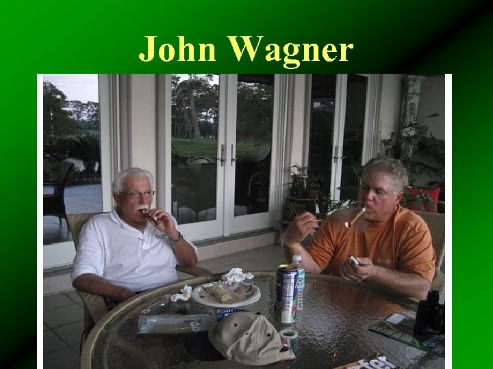 John Wagner • Exemplified JIF commitment to safety • Influenced our towns • Had