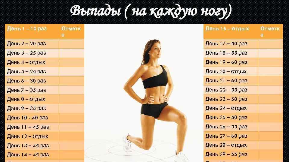 План Похудения На 30 Дней. Программа похудения на месяц в домашних условиях