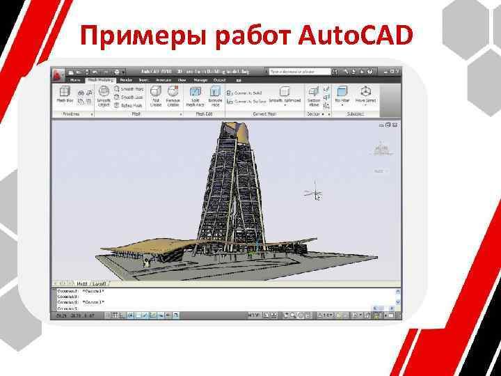 Примеры работ Auto. CAD