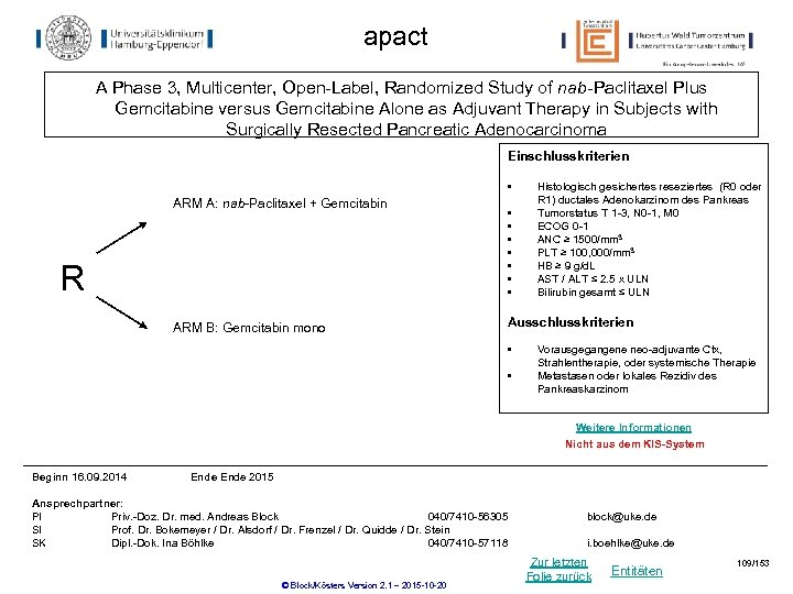 apact A Phase 3, Multicenter, Open-Label, Randomized Study of nab-Paclitaxel Plus Gemcitabine versus Gemcitabine