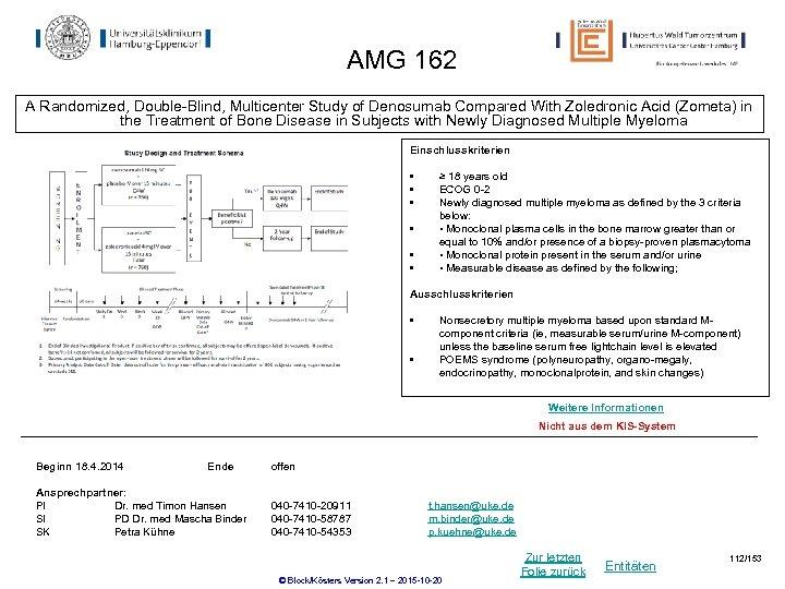 AMG 162 A Randomized, Double-Blind, Multicenter Study of Denosumab Compared With Zoledronic Acid (Zometa)