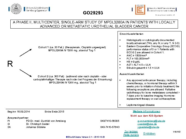 GO 29293 A PHASE II, MULTICENTER, SINGLE-ARM STUDY OF MPDL 3280 A IN PATIENTS