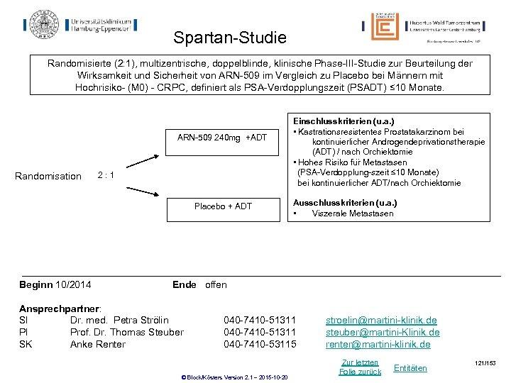 Spartan-Studie Randomisierte (2: 1), multizentrische, doppelblinde, klinische Phase-III-Studie zur Beurteilung der Wirksamkeit und Sicherheit