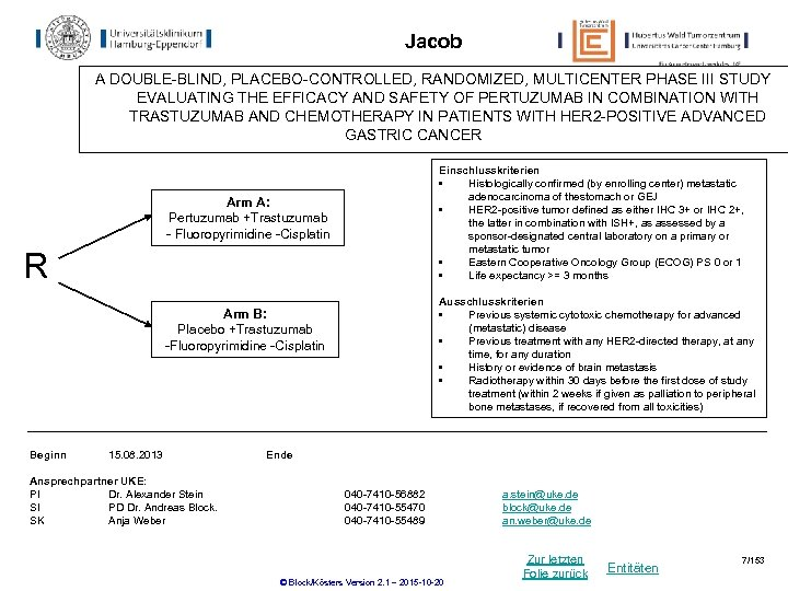 Jacob A DOUBLE-BLIND, PLACEBO-CONTROLLED, RANDOMIZED, MULTICENTER PHASE III STUDY EVALUATING THE EFFICACY AND SAFETY
