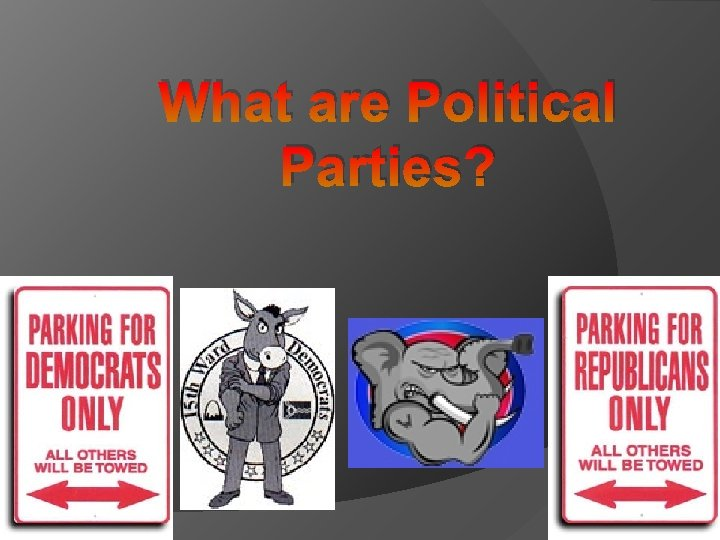 What are Political Parties?