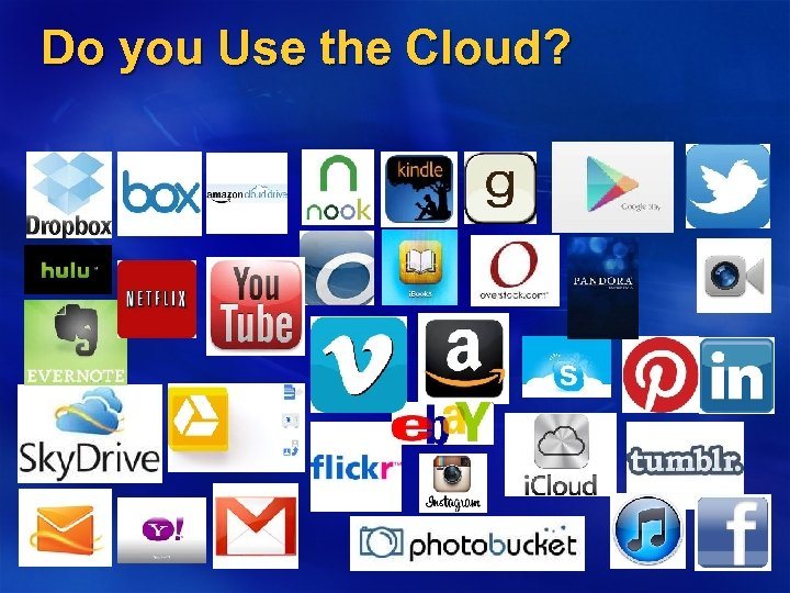 Do you Use the Cloud?