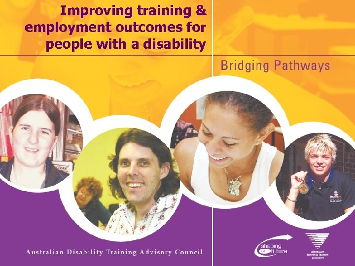 Improving training & employment outcomes for people with a disability