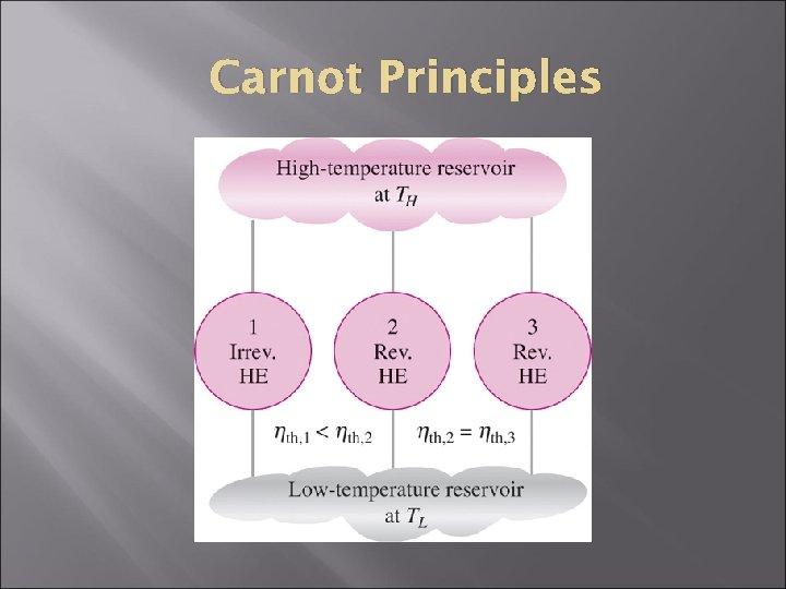 Carnot Principles
