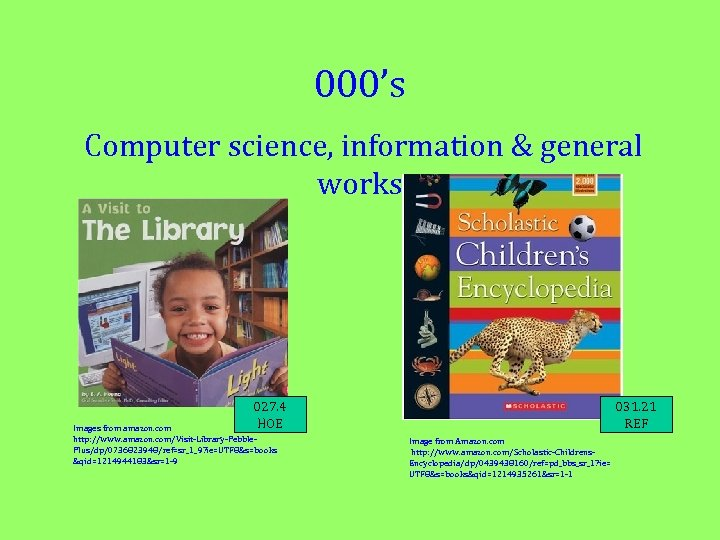 000's Computer science, information & general works 027. 4 HOE Images from amazon. com