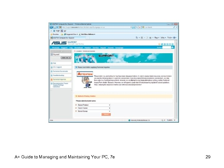 A+ Guide to Managing and Maintaining Your PC, 7 e 29