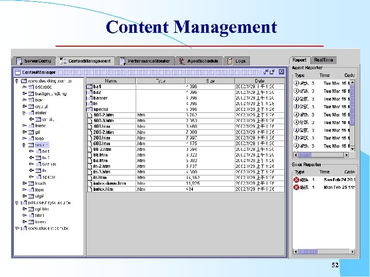 Content Management 52
