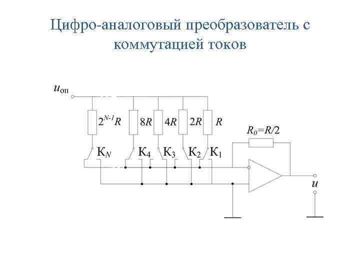 Цифро-аналоговый преобразователь с коммутацией токов