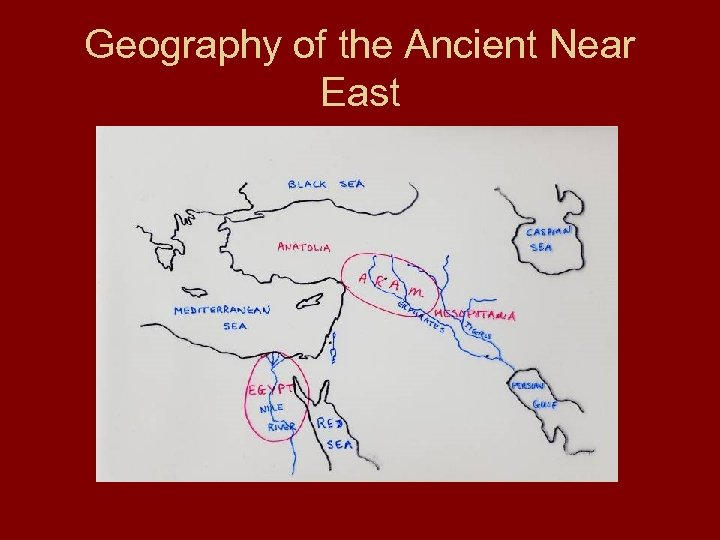 Geography of the Ancient Near East