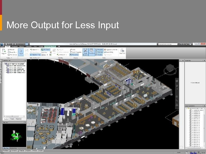 More Output for Less Input