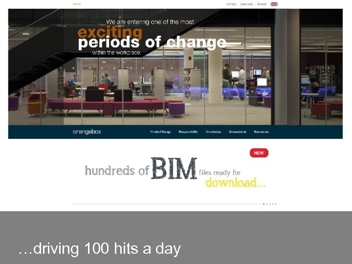 …driving 100 hits a day