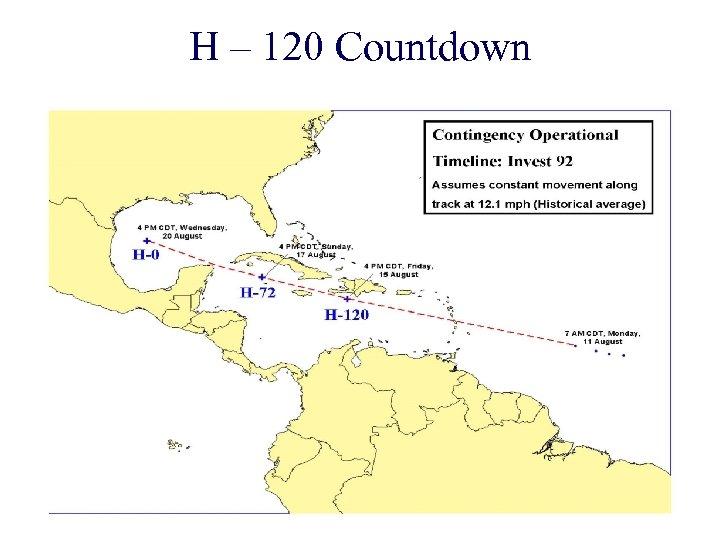 H – 120 Countdown