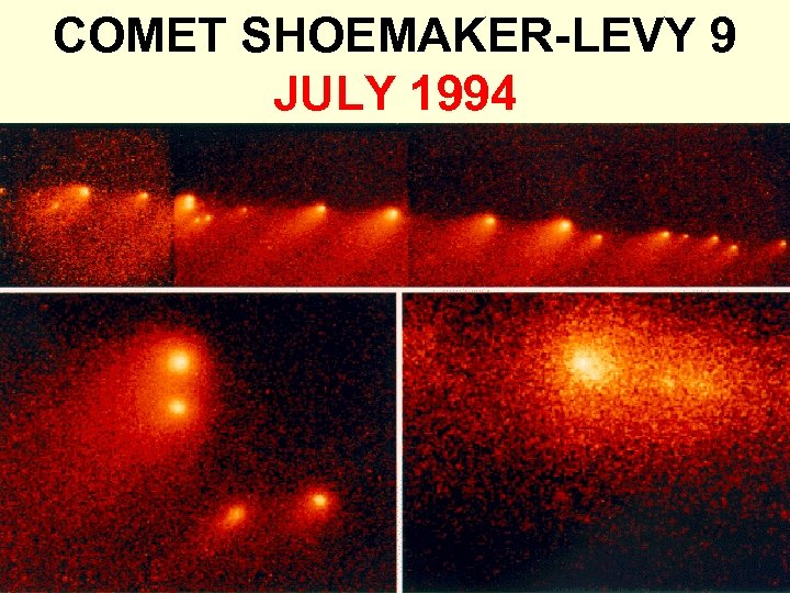 COMET SHOEMAKER-LEVY 9 JULY 1994