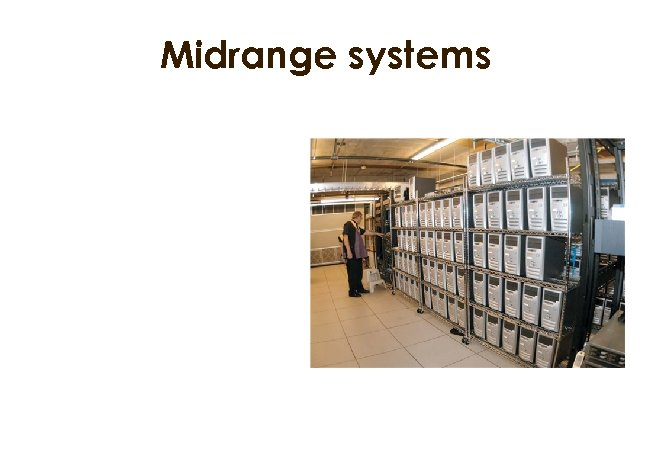 Midrange systems