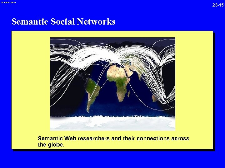 3/19/2018 08: 25 23 -15 Semantic Social Networks Semantic Web researchers and their connections