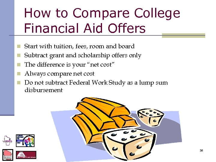 How to Compare College Financial Aid Offers n Start with tuition, fees, room and