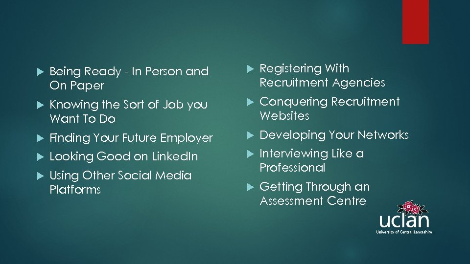 Being Ready - In Person and On Paper Registering With Recruitment Agencies Knowing