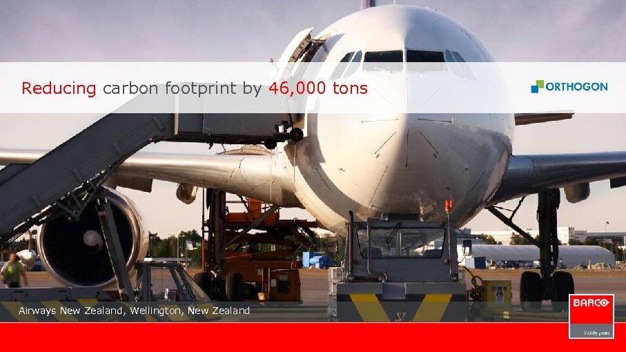 Reducing carbon footprint by 46, 000 tons Airways New Zealand, Wellington, New Zealand