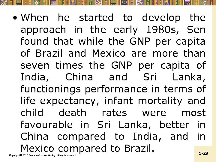 • When he started to develop the approach in the early 1980 s,