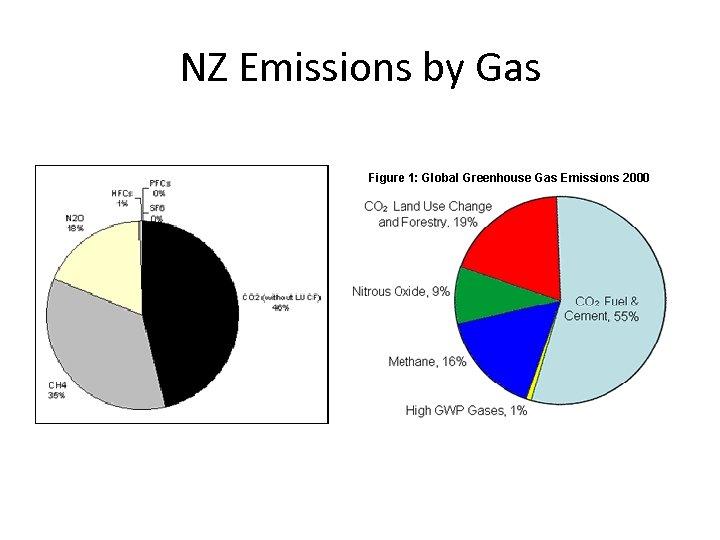 NZ Emissions by Gas