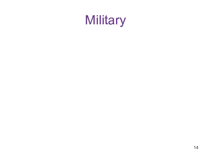 Military 14